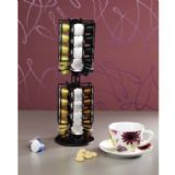 "Xavax ""Rondello"" Rotating Coffee Capsule Stand for Nespresso Black - 00111114"